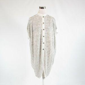 Gray ANTHROPOLOGIE POSTMARK cardigan sweater XS